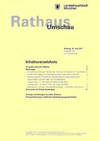Rathaus Umschau 128 / 2017