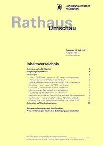 Rathaus Umschau 129 / 2017