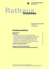 Rathaus Umschau 13 / 2017