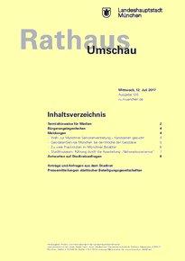 Rathaus Umschau 130 / 2017