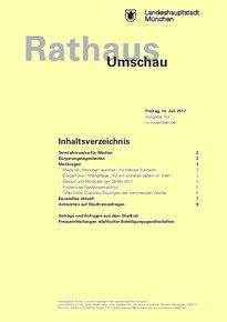 Rathaus Umschau 132 / 2017