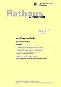 Rathaus Umschau 133 / 2017