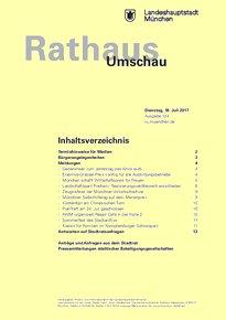Rathaus Umschau 134 / 2017