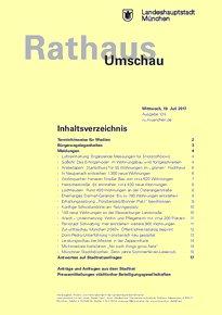 Rathaus Umschau 135 / 2017