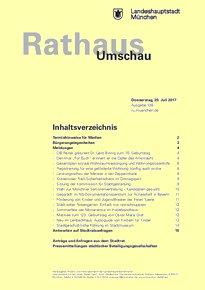Rathaus Umschau 136 / 2017