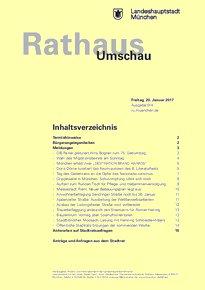 Rathaus Umschau 14 / 2017