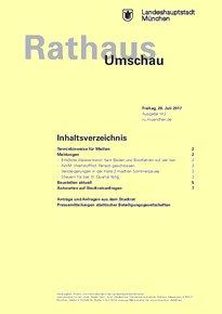 Rathaus Umschau 142 / 2017