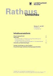 Rathaus Umschau 143 / 2017