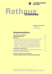 Rathaus Umschau 144 / 2017