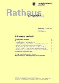 Rathaus Umschau 146 / 2017