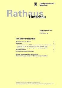 Rathaus Umschau 147 / 2017