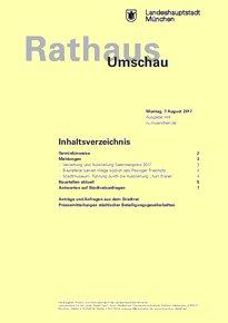 Rathaus Umschau 148 / 2017