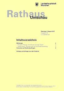 Rathaus Umschau 149 / 2017