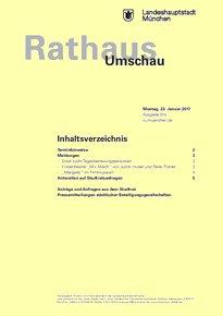 Rathaus Umschau 15 / 2017