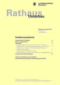 Rathaus Umschau 150 / 2017