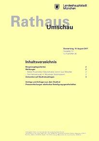Rathaus Umschau 151 / 2017