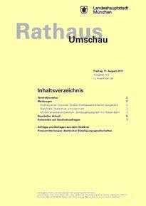 Rathaus Umschau 152 / 2017