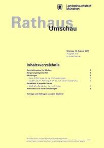 Rathaus Umschau 153 / 2017