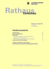 Rathaus Umschau 154 / 2017