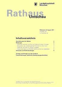Rathaus Umschau 159 / 2017