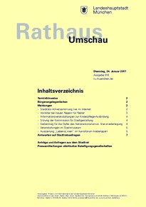 Rathaus Umschau 16 / 2017