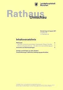 Rathaus Umschau 160 / 2017