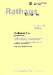 Rathaus Umschau 162 / 2017