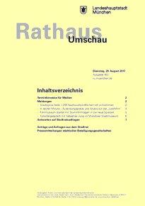 Rathaus Umschau 163 / 2017