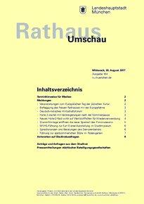 Rathaus Umschau 164 / 2017