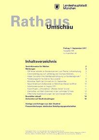 Rathaus Umschau 166 / 2017