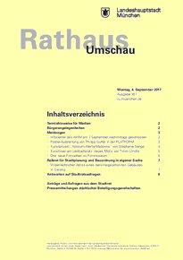Rathaus Umschau 167 / 2017
