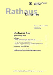 Rathaus Umschau 169 / 2017