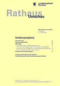 Rathaus Umschau 17 / 2017