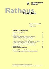Rathaus Umschau 171 / 2017