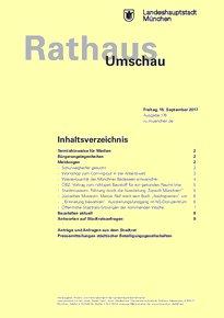 Rathaus Umschau 176 / 2017