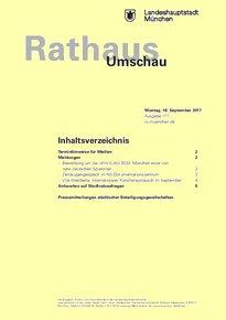 Rathaus Umschau 177 / 2017