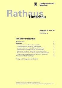 Rathaus Umschau 18 / 2017
