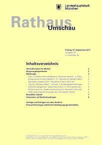 Rathaus Umschau 181 / 2017