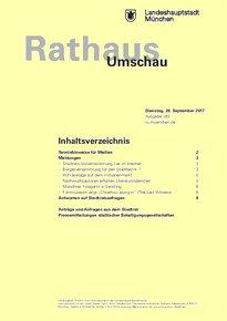 Rathaus Umschau 183 / 2017