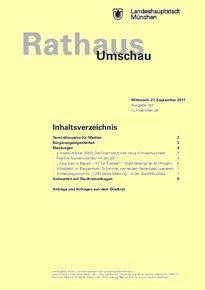 Rathaus Umschau 184 / 2017