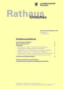 Rathaus Umschau 185 / 2017