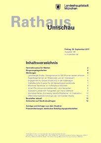 Rathaus Umschau 186 / 2017