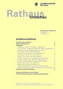 Rathaus Umschau 189 / 2017