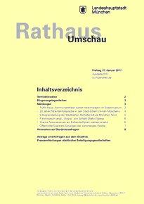 Rathaus Umschau 19 / 2017