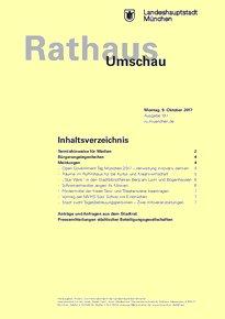 Rathaus Umschau 191 / 2017