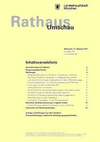 Rathaus Umschau 193 / 2017