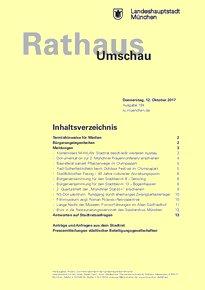 Rathaus Umschau 194 / 2017