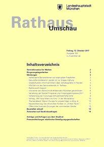 Rathaus Umschau 195 / 2017