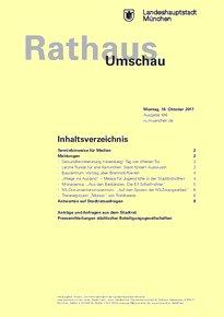Rathaus Umschau 196 / 2017