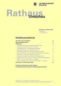 Rathaus Umschau 197 / 2017